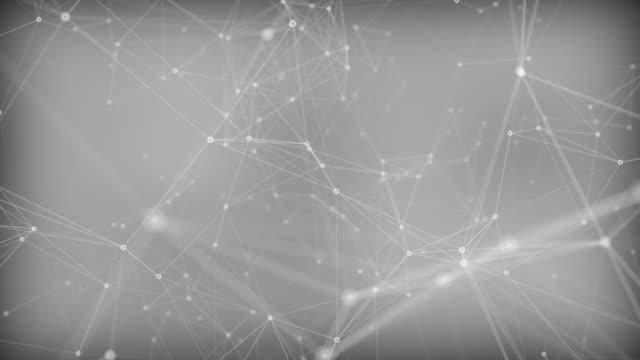 chaos connections - esagono video stock e b–roll