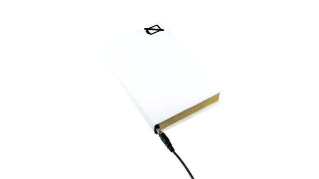 Charging a book connected to USB video