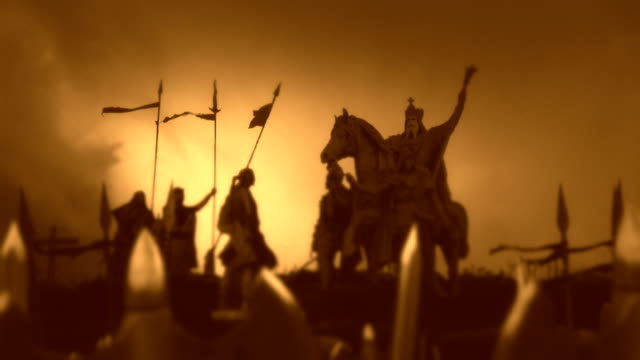 Charlemagne with His Massive Army