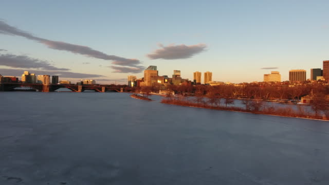 Charles River Sunset - Boston video