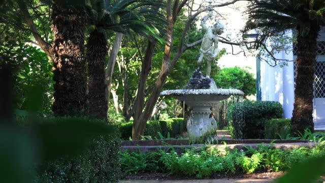 Charleston, SC Fountain through Gate - Zoom