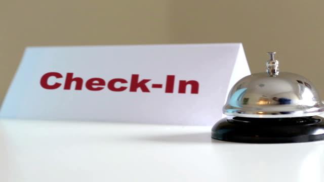 Check in service desk video