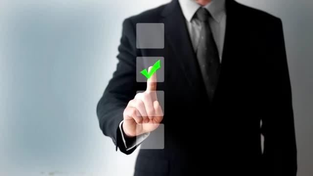 markera koncept på pekskärmen - kommunikationssätt bildbanksvideor och videomaterial från bakom kulisserna