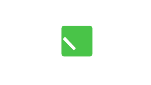 Check mark symbol. Green and gray checkboxes. Tick sign in green color. 4K video