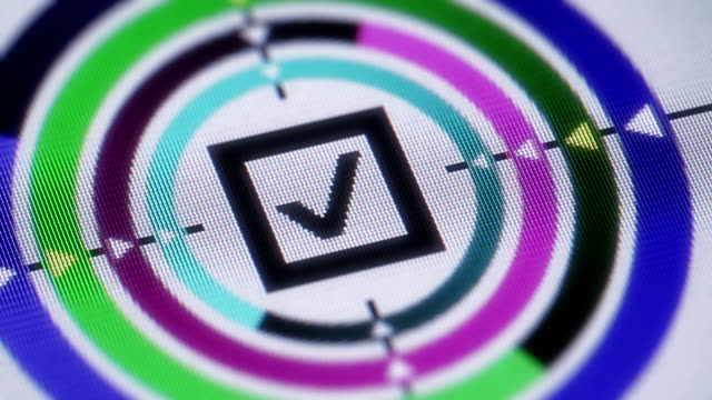 vídeos de stock, filmes e b-roll de caixa de seleção - validação