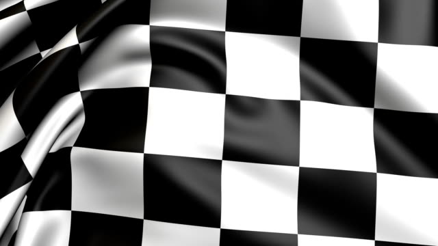 Checker flag video