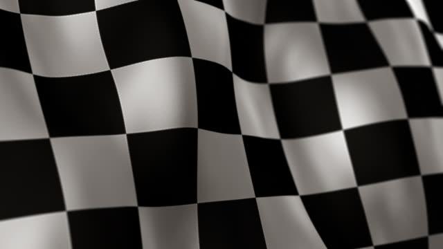 Checkered Flag High Detail - Looping
