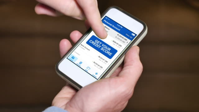 Checking Credit Score on Smartphone Very Poor video