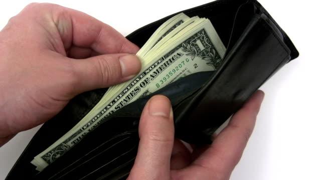 checking money - 銀包 個影片檔及 b 捲影像
