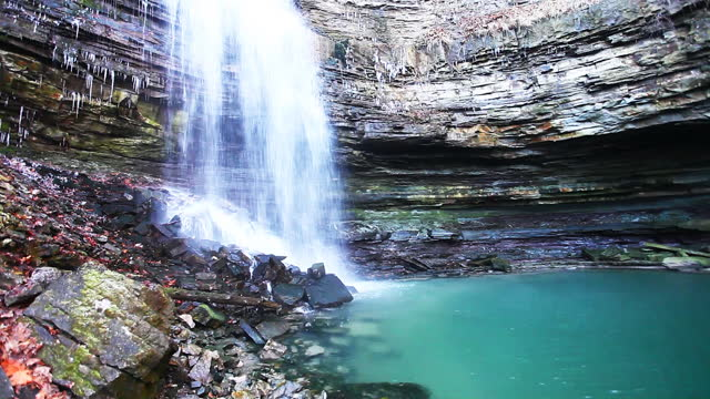 Chedoke Falls in Ontario, Canada video
