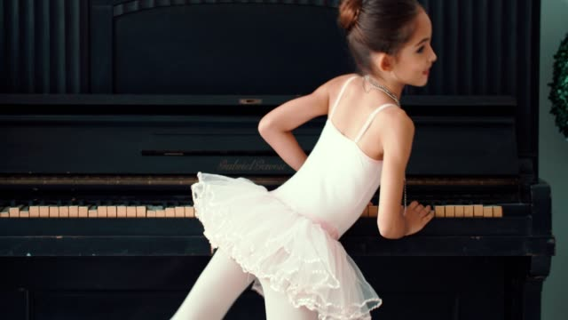 Cheerful Little Ballerina