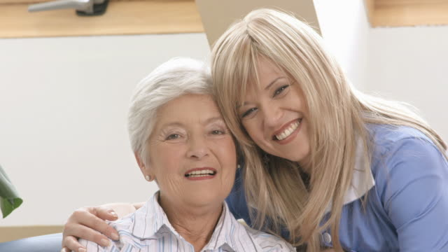 HD: Cheerful Nurse And Senior Woman video