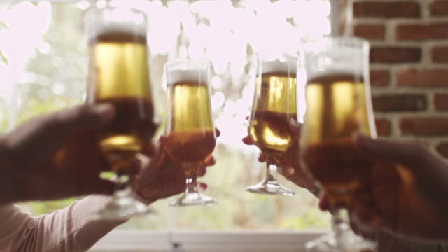 cheers! - happy hour stock videos and b-roll footage