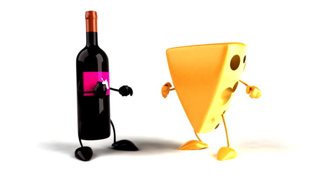 Cheese and wine video
