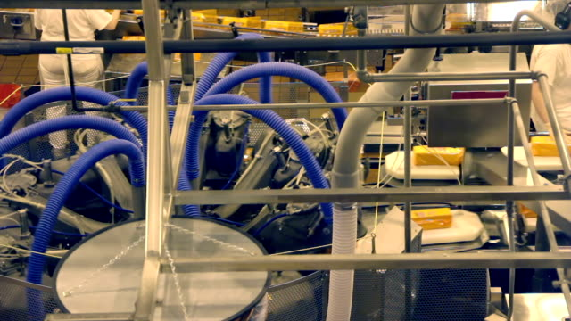 Cheese Factory Production Line - Packaging Heat Shrink video