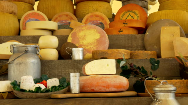 Cheese Market - video