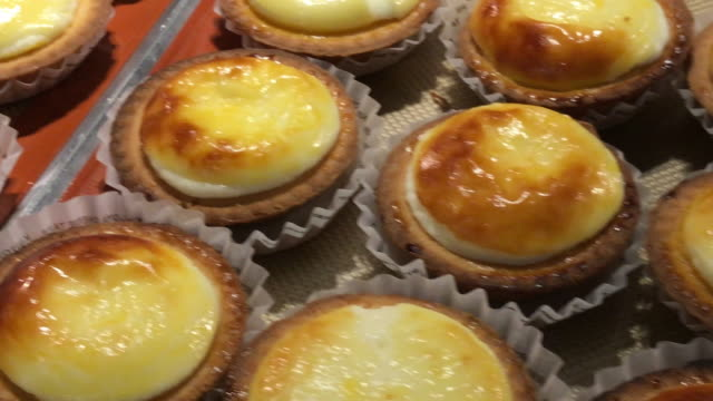Cheese Tart Lava In Bangkok Thailand Stock Video & More
