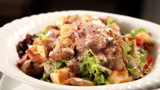 Chef's salad video
