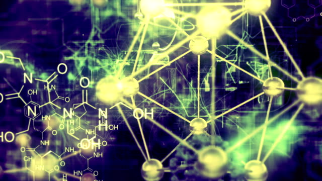 chemical molecule video