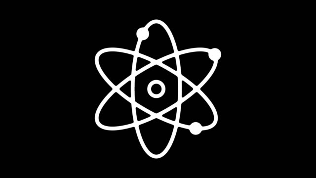 kimya deneyleri çizgi simgesine animasyon alpha ile - biyomedikal animasyonu stok videoları ve detay görüntü çekimi