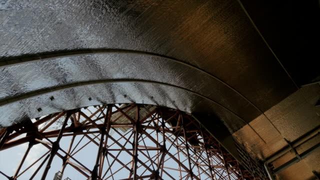 Chernobyl Sarcophagus Interior View Shot On Construction