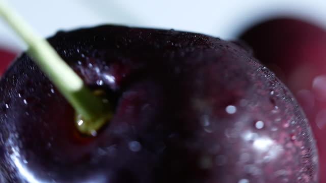 Cherries rotate video