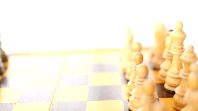 Chessboard Setup Pan Stock Video & More Clips of 2015 - iStock