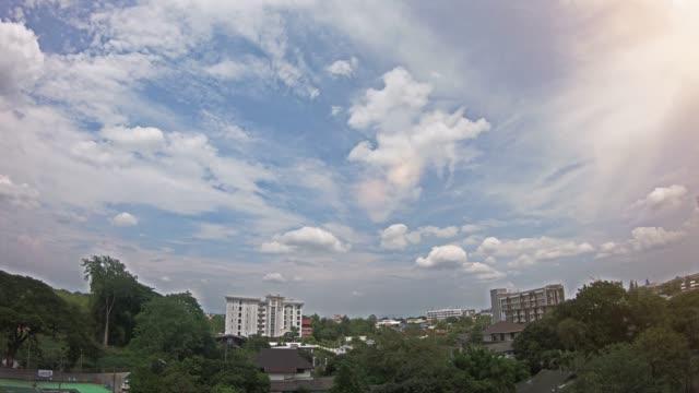 vídeos de stock e filmes b-roll de chiang mai cityscape - sudeste