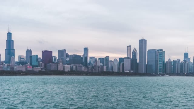 T/L WS HA ZO Chicago Panorama and Skyline / Illinois, US