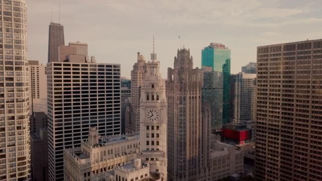 chicago riverwalk - chicago architecture stock videos & royalty-free footage