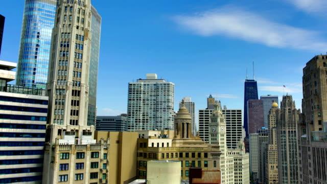 Chicago skyline 4K video