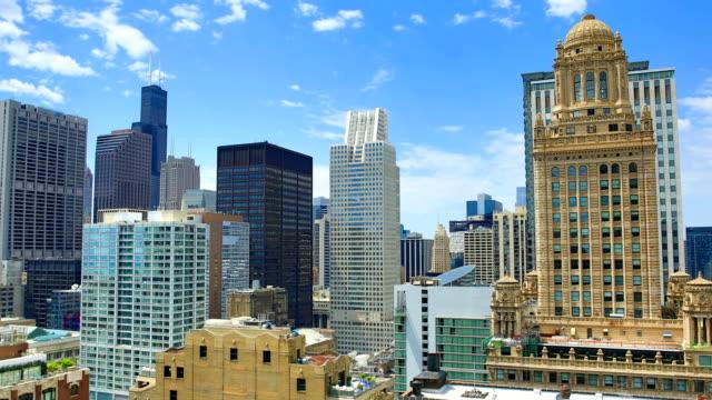 Chicago skyline: 4K video