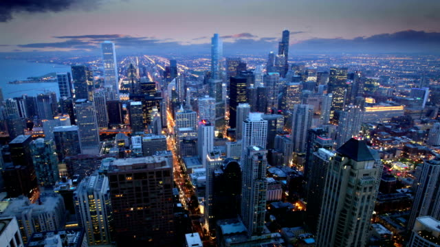 Chicago Skyline, video