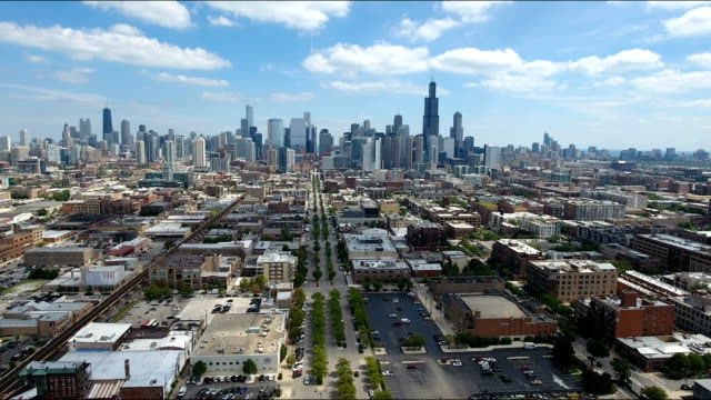 Chicago Skyline video