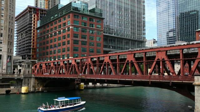 Chicago's El Train HD 1080p video
