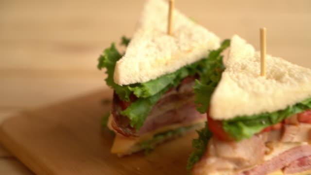 chiciken and ham sandwich video