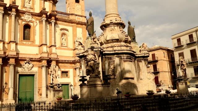 Chiesa di S. Domenica Palermo time lapse video