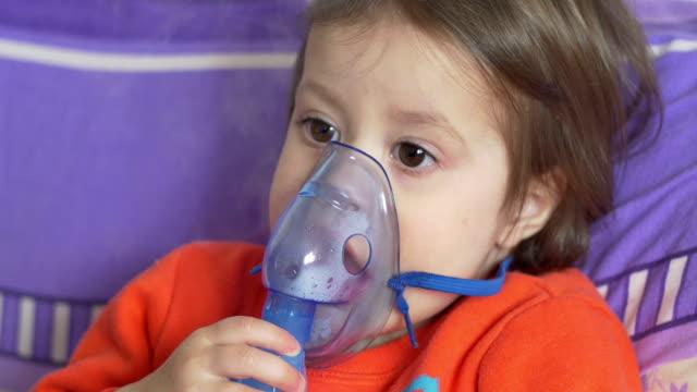 Child and Breath Nebulizer video