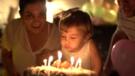 istock Child Celebrating Her Birthday Party at Home 1096040746