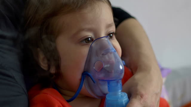 Child Doing Nebulizer Teraphy video