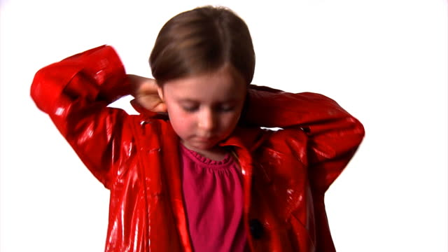 Child dressing for outdoors video