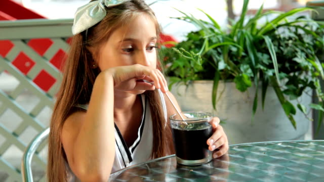 Child Drinking Cola video