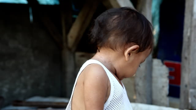 Child living in poverty video