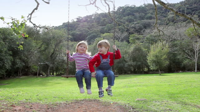 Child on the Swing video