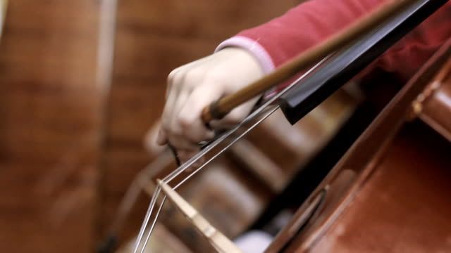 child playing the cello video