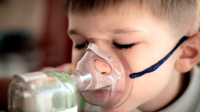 Child with inhaler video