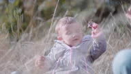 istock Childcare. Baby with mother learns to love nature. Teaching children about sustainability. 1347619080