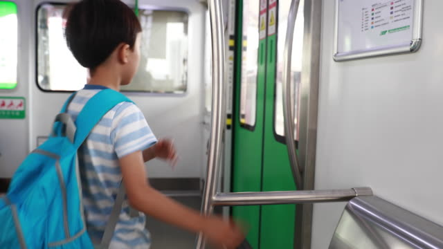 Children play in the subway Children play in the subway only boys stock videos & royalty-free footage