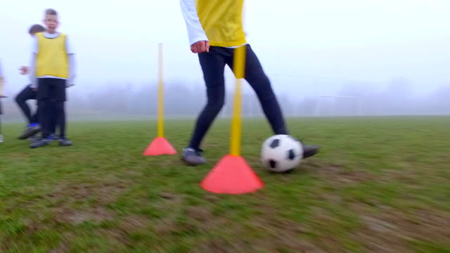 HD: Children Playing Soccer. video