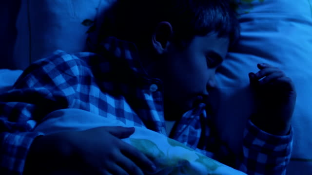 Children sleep video